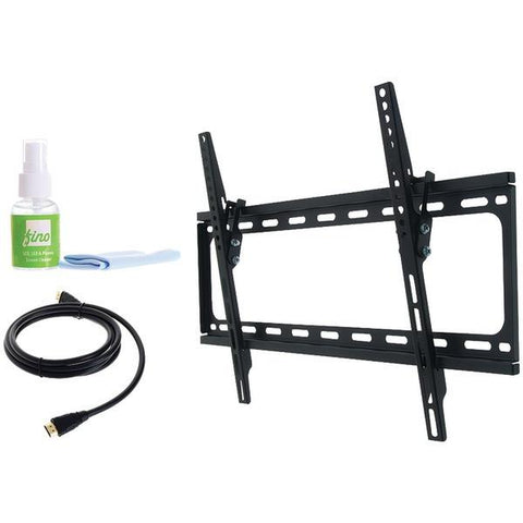 "FinoAV FT64k2 30""–65"" Large Tilt Mount with HDMI Cable & Screen Cleaner - Peazz.com"