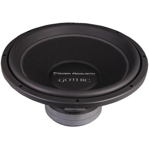"Power Acoustik GW3-15 Gothic Series 2? Dual Voice-Coil Subwoofer (15"", 3,000 Watts) - Peazz.com"