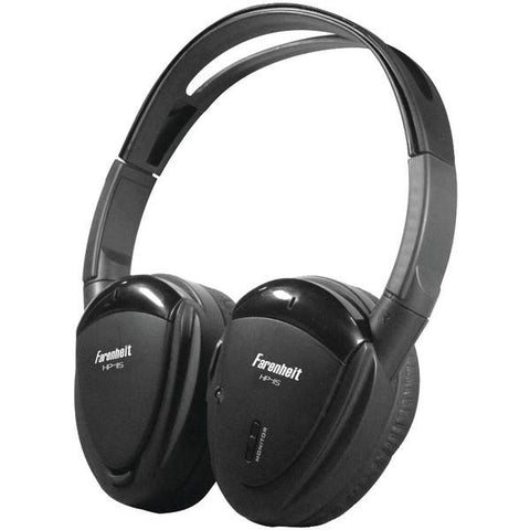 Power Acoustik HP-12S 2-Channel Wireless IR Headphones - Peazz.com
