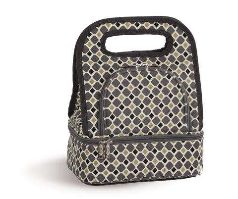 Picnic Plus PSM-144MO Savoy Lunch Bag Mosaic Finish