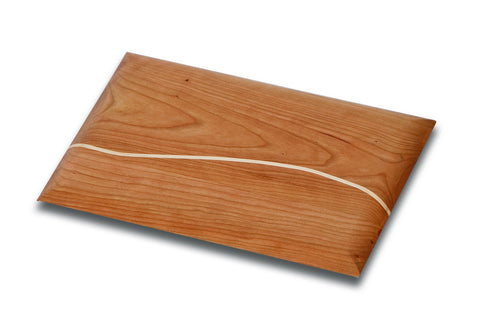 Picnic Plus PSU-602 Hudson Bar Board Made in USA Cherry Finish