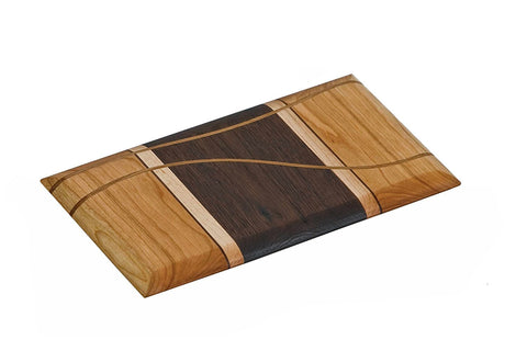 Picnic Plus PSU-618C Sugar Creek Cheese Board Cherry Finish
