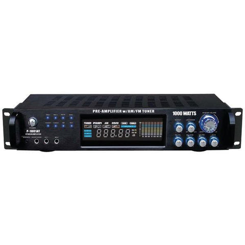 Pyle P1001AT Hybrid Amp & AM/FM Tuner (1,000 Watt) - Peazz.com
