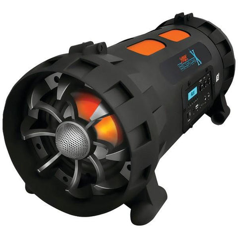 Pyle PBMSPG200 Street Blaster X Portable Bluetooth Boom Box Speaker System with NFC - Peazz.com