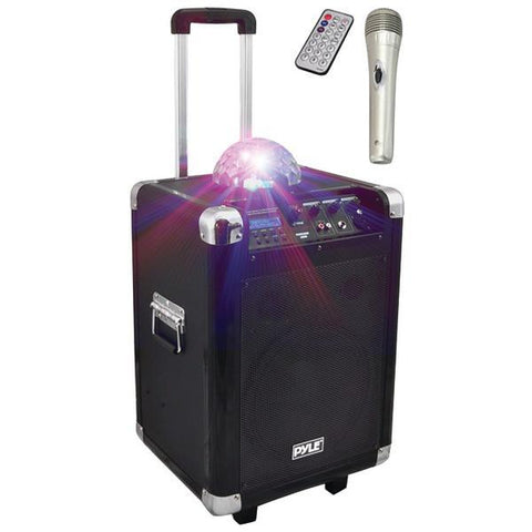 Pyle PCMX280B Disco Jam 400-Watt Bluetooth Portable PA Speaker System - Peazz.com