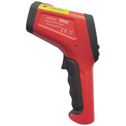 Pyle PIRT30 High-Temperature IR Thermometer with Type K Input - Peazz.com
