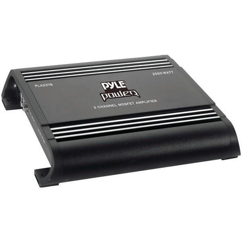 Pyle PLA2378 Power Series Bridged MOSFET Class AB Amp (2 Channels, 2,000 Watts max) - Peazz.com