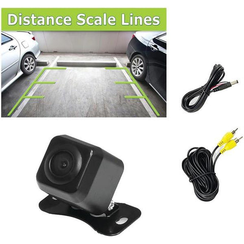 Pyle PLCM37FRV Backup Parking/Reverse Camera with Distance-Scale Line - Peazz.com