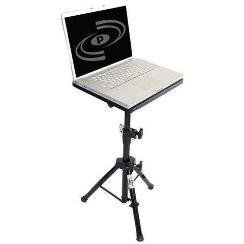 Pyle PLPTS2 Pro DJ Tripod Adjustable Notebook Computer Stand - Peazz.com
