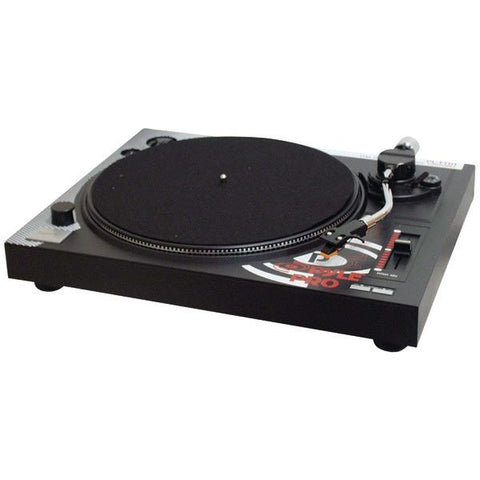 Pyle PLTTB1 Belt-Drive Turntable with Pitch Center - Peazz.com