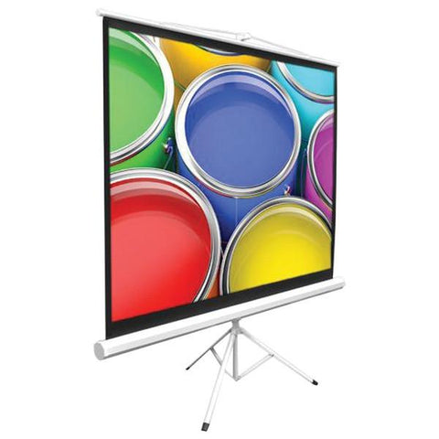 "Pyle Home PRJTP42 Floor-Standing Portable Tripod Projector Screen (40"") - Peazz.com"