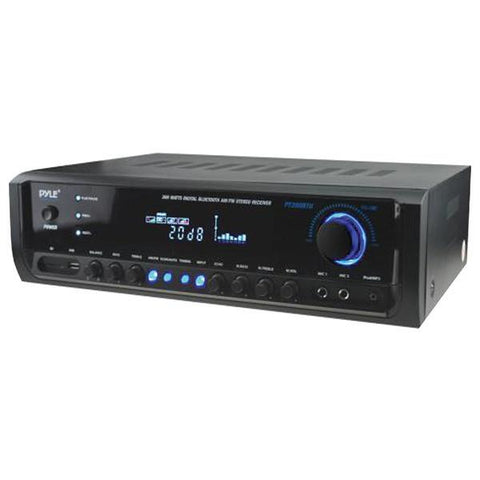 Pyle Home PT390BTU Digital Home Theater Bluetooth Stereo Receiver - Peazz.com