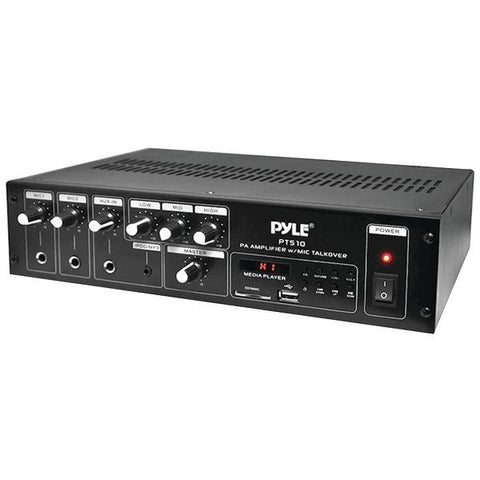 Pyle Home PT510 240-Watt PA Power Amp - Peazz.com
