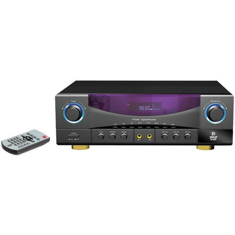 Pyle Home PT530A 2-Channel, 350-Watt Stereo Receiver - Peazz.com