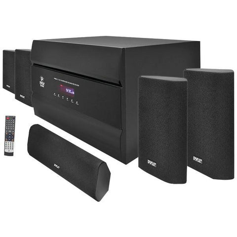 Pyle PT628A 400-Watt 5.1-Channel Home Theater System - Peazz.com