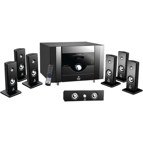 Pyle PT798SBA 7.1-Channel Home Theater System with Bluetooth - Peazz.com