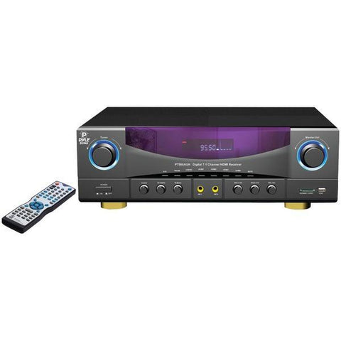 Pyle Home PT980AUH 7.1-Channel, 350-Watt AM/FM Receiver - Peazz.com