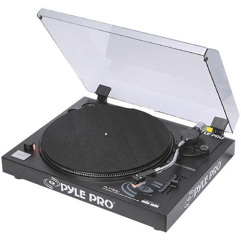 Pyle PLTTB3U Belt-Drive USB Turntable with Digital Recording Software - Peazz.com