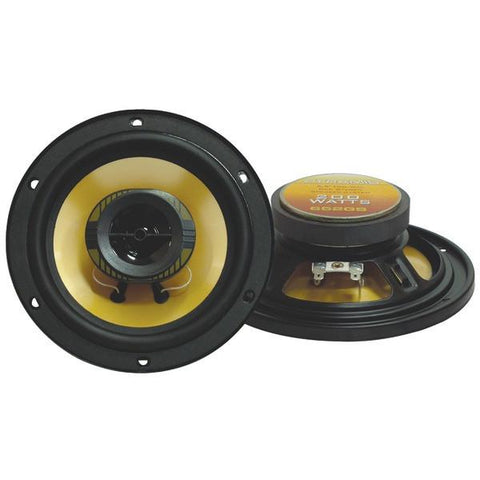 "Pyramid Car Audio 652GS Yellow Label Series 2-Way Speakers (6.5"", 200 Watts) - Peazz.com"