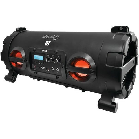 Pyle PBMSPG130BK Portable Bluetooth Boom Box Speaker (Black) - Peazz.com