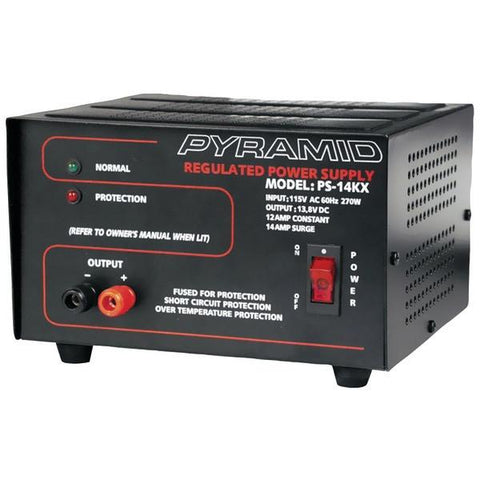 Pyramid Car Audio PS14KX 12-Amp Power Supply - Peazz.com