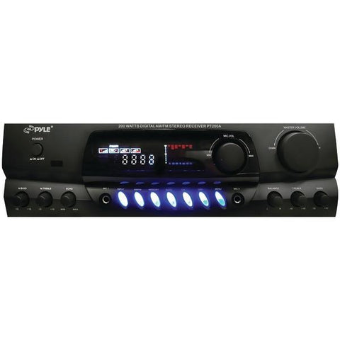 Pyle Home PT260A 200-Watt Digital Stereo Receiver - Peazz.com