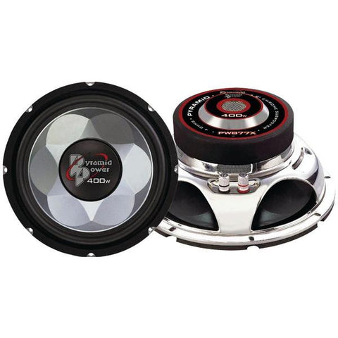 "Pyramid Car Audio PW877X Power Series Subwoofer (8"", 400 Watts) - Peazz.com"