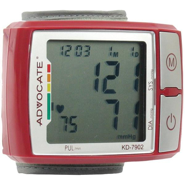 Image of ADVOCATE KD-7902 Wrist Blood Pressure Monitor with Color Indicator