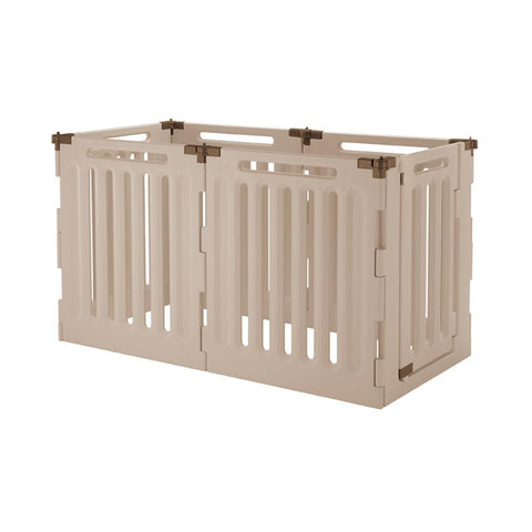 Richell R94192 Convertible Indoor/Outdoor Pet Playpen 6 Panel