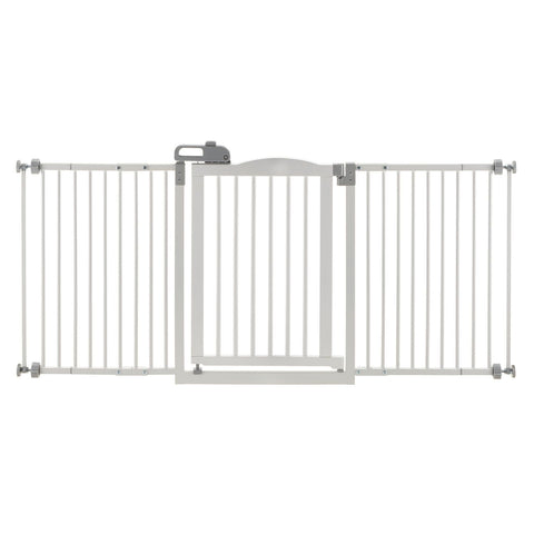 Richell R94933 One-Touch Wide Pressure Mounted Pet Gate II