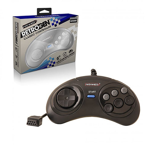 Genesis Wired RetroPad Controller (RB-GEN-4507)