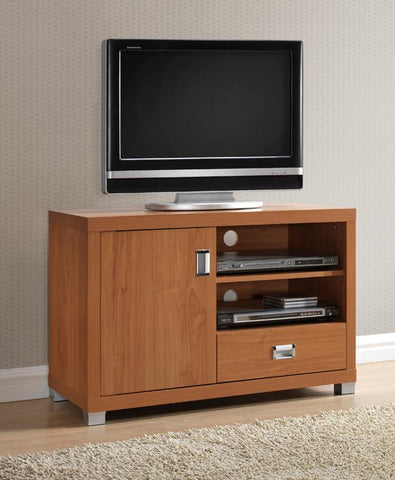 Techni Mobili RTA-8830-MPL TV Stand with Storage. Color: Maple - Peazz.com - 1