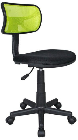 Techni Mobili RTA-M101-LM Student Mesh Task Office Chair. Color: Lime - Peazz.com - 1