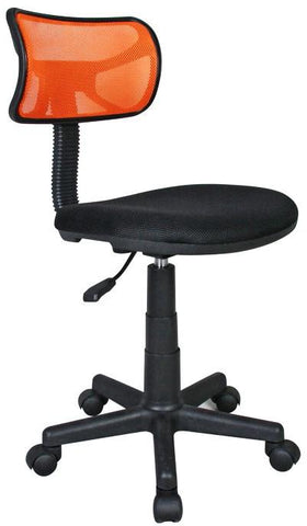 Techni Mobili RTA-M101-ORG Student Mesh Task Office Chair. Color: Orange - Peazz.com - 1