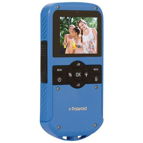 Polaroid ID610-BLU 1.3-Megapixel All-Weather Digital Camcorder - Peazz.com