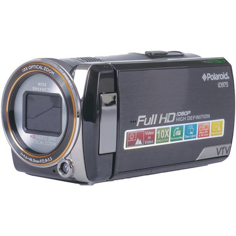Polaroid ID975-BLK 16.0-Megapixel Digital Video Camcorder - Peazz.com