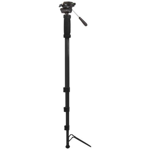 "Kodak M720 72"" 3-Way Pan-Head Monopod with Foot Support - Peazz.com"