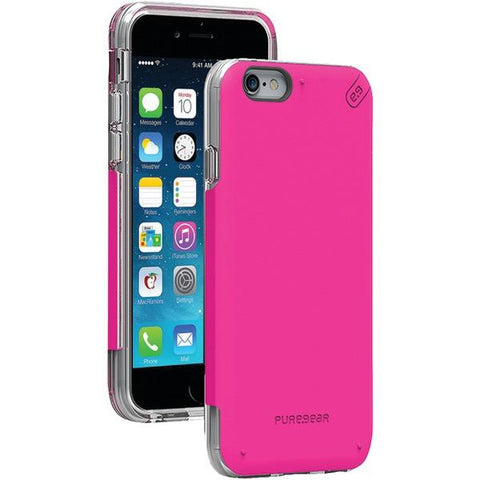 PureGear 11071VRP iPhone 6/6s DualTek PRO Case (Pink/Clear) - Peazz.com