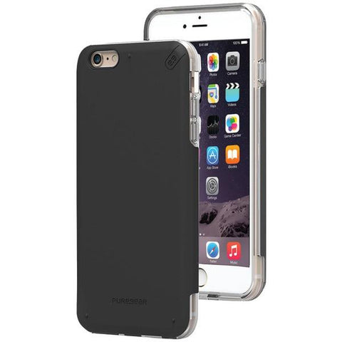 PureGear 11073VRP iPhone 6 Plus/6s Plus DualTek PRO Case (Black/Clear) - Peazz.com