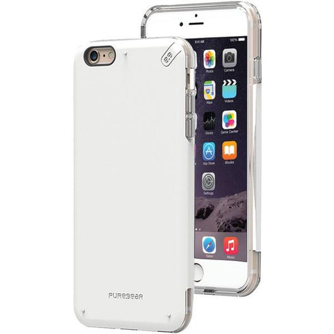 PureGear 11074VRP iPhone 6 Plus/6s Plus DualTek PRO Case (White/Clear) - Peazz.com