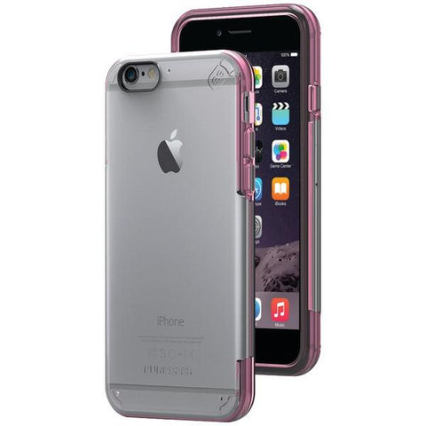 PureGear 11197VRP iPhone 6/6s Slim Shell PRO Case (Clear/Pink) - Peazz.com
