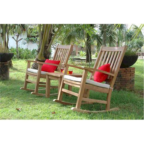 Anderson Teak Beach Rocking Armchair Collection Palm