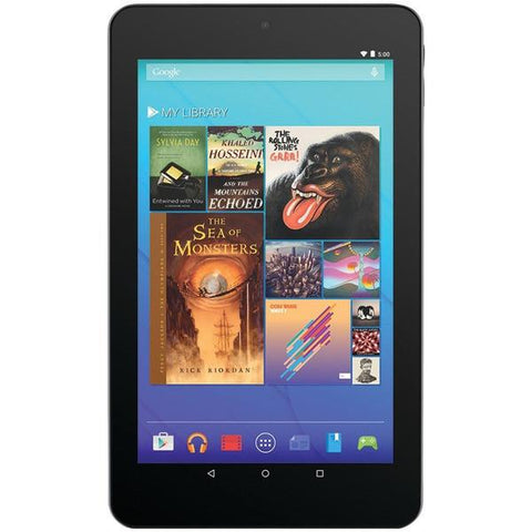 "Ematic EGQ347BL 7"" HD Quad-Core Android 5.0 8GB Tablet with Bluetooth - Peazz.com"