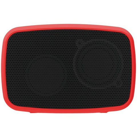 Ematic ESQ206RD Rugged Life NOIZE Bluetooth Speaker (Red) - Peazz.com