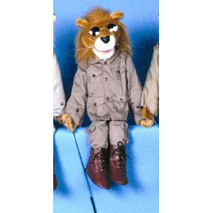 "Sunny & Co Toys GS4810 28"" Lion in safari outfit - Peazz.com"