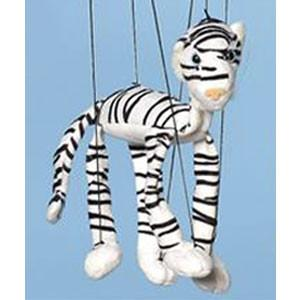Sunny & Co Toys WB358A Jungle Animal (White Tiger) Small Marionette - Peazz.com