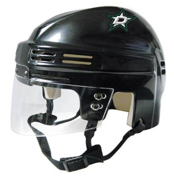 Official NHL Licensed Mini Player Helmets - Dallas Stars - Peazz.com