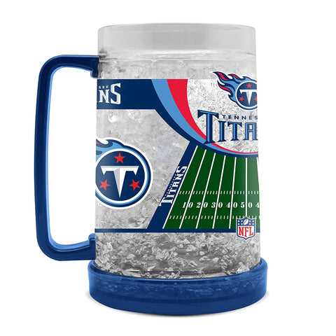 16Oz Crystal Freezer Mug NFL - Tennessee Titans