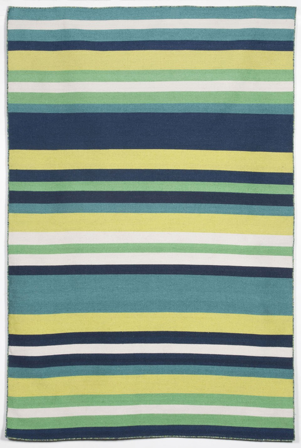Trans-Ocean Imports SRN57630106 Sorrento Collection Green Finish Everywear Rug