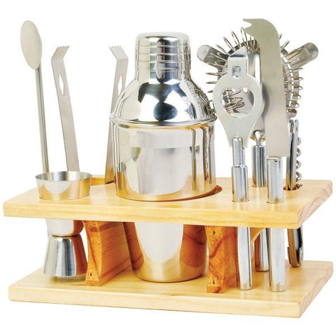 Chefs Basics HW4228 9-Piece Stainless Steel Cocktail Set - Peazz.com